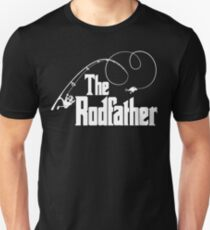 The Rodfather Fishing Parody T Shirt Unisex T-Shirt