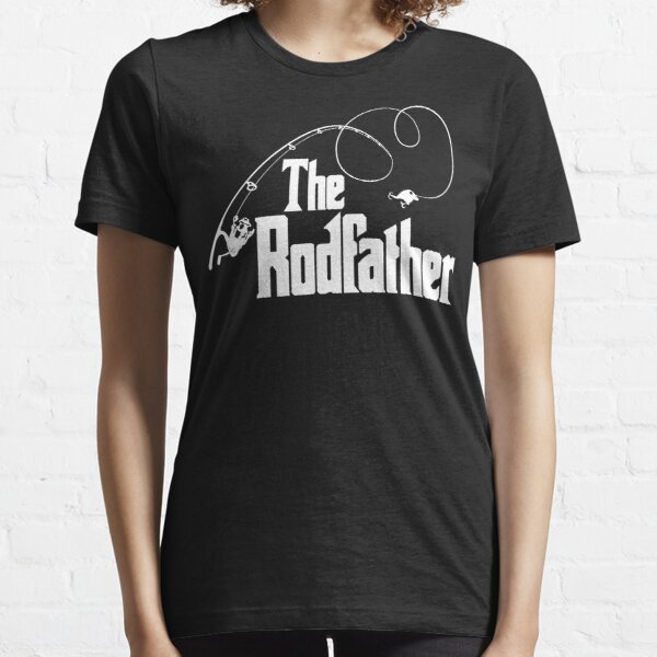The Rodfather Fishing Parody T Shirt Essential T-Shirt