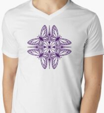 butterfly mandala - one flutter! Mens V-Neck T-Shirt