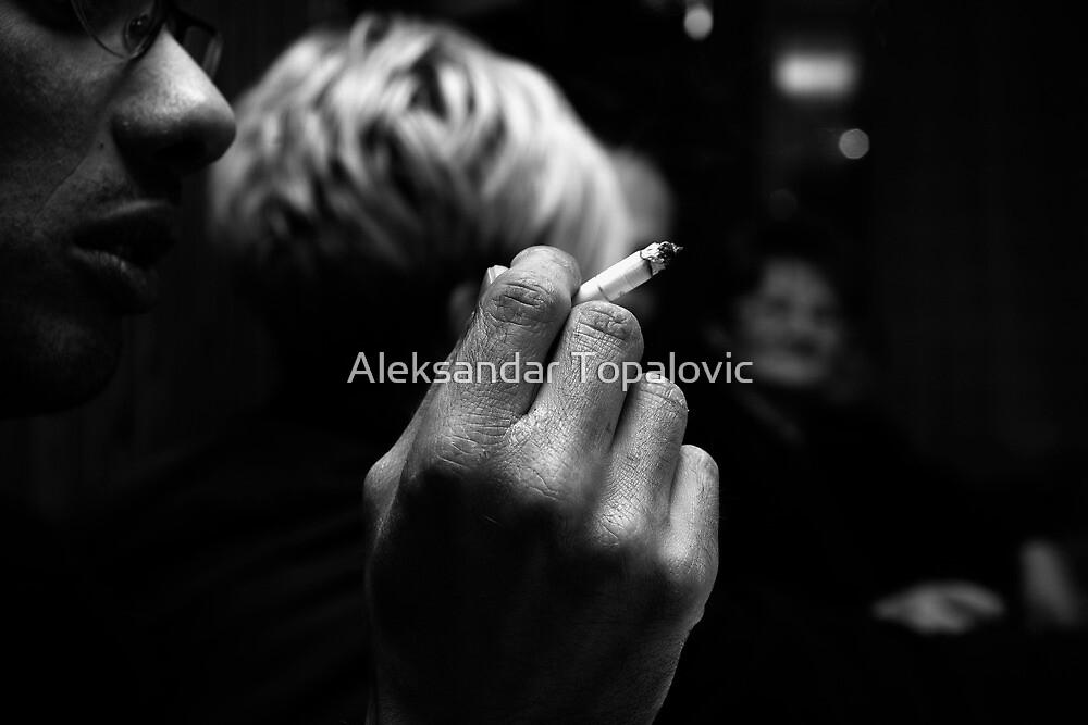 Talk to the hand by Aleksandar Topalovic