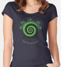 Which Planet Are You On? Women's Fitted Scoop T-Shirt