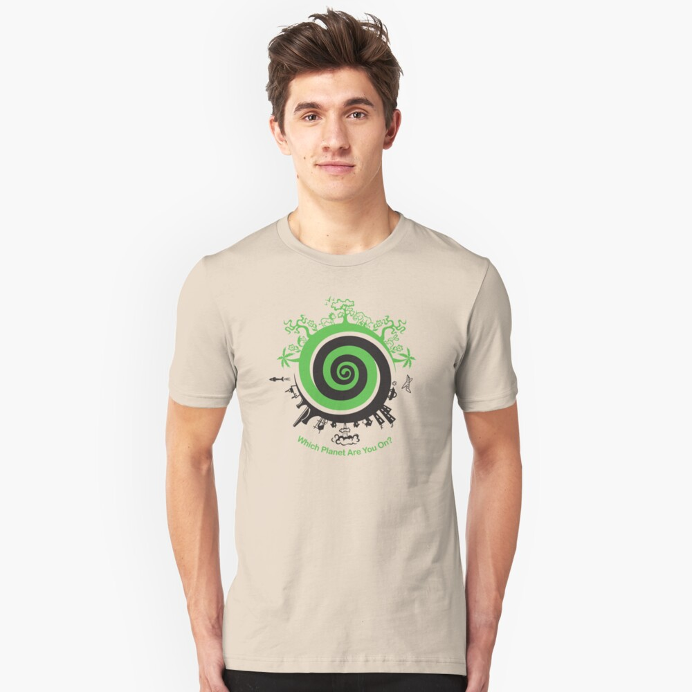 Which Planet Are You On? Unisex T-Shirt Front
