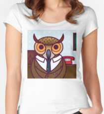The Meeting Women's Fitted Scoop T-Shirt