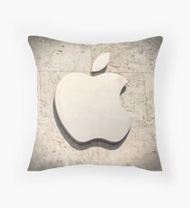 Apple Store Logo Daytime Throw Pillow