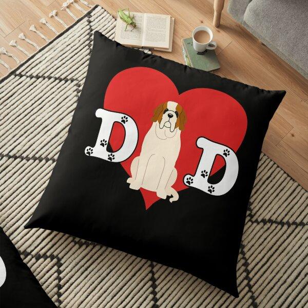 Dad St Bernard - Gift For  St Bernard Lover Floor Pillow