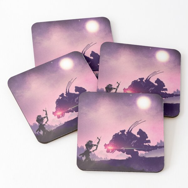 Zero Dawn  Coasters (Set of 4)