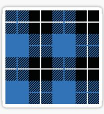 Lumberjack Blue & White Sticker