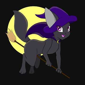 Halloween Witch Kitty by Wavicles