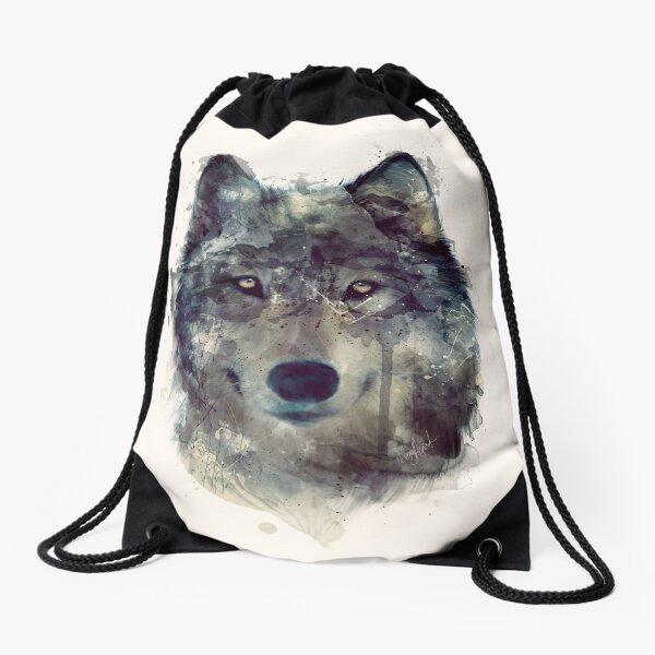 Wolf // Durchhalte dich Turnbeutel