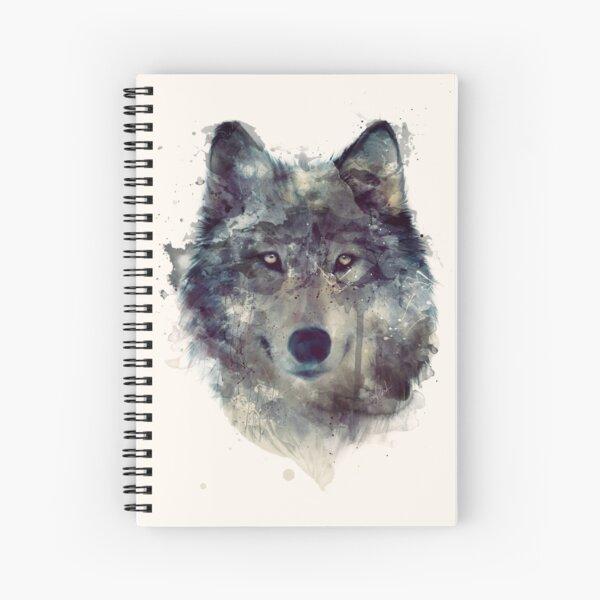Lobo // perseverar Cuaderno de espiral