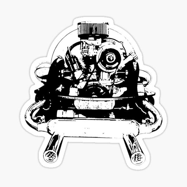 engine Sticker