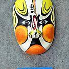 Bangzi opera mask by lollored