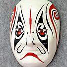 Chinese opera mask by lollored