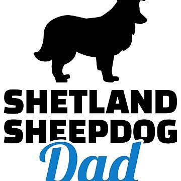 Shetland Sheepdog dad by Designzz