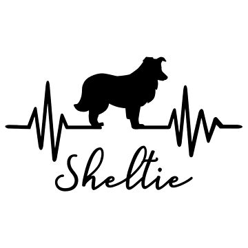 Heartbeat Shetland Sheepdog by Designzz