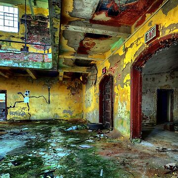 Abandoned Places Forgotten Factory by mia-scott