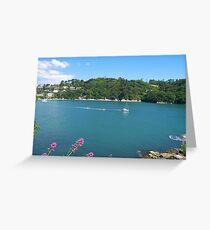 The Dart Estuary Greeting Card