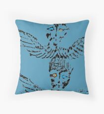 Abstract Angels Throw Pillow