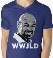 What Would John Locke Do - LOST Men's V-Neck T-Shirt