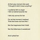 She Knew Not Love by Styl0