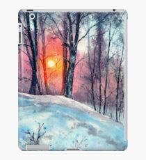 Winter Woodland In The Sun iPad Case/Skin