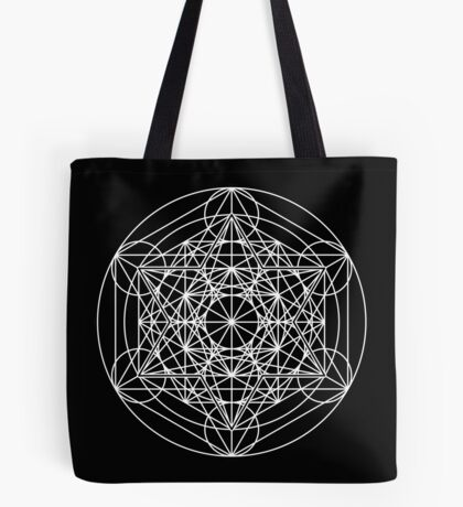 Metatron's Cube Expanded 003 Tote Bag