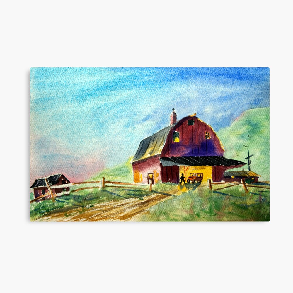 Up With the Chickens - Everyday Heroes  Canvas Print
