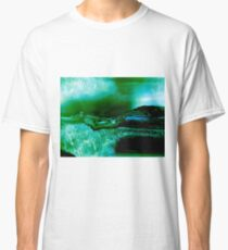 Agate Geode Abstract Classic T-Shirt