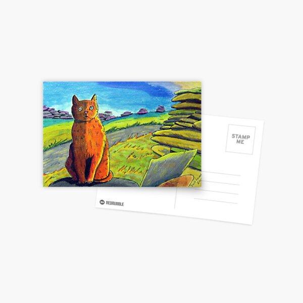 289 - LEFT BY THE ROADSIDE - DAVE EDWARDS - COLOURED PENCILS & INK - 2010 Postcard