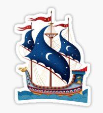 Ottoman Ship 3 Sticker
