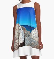 Rocky Sea A-Line Dress