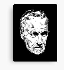 Christopher Lee Canvas Print