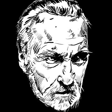 Christopher Lee by MattFontaine