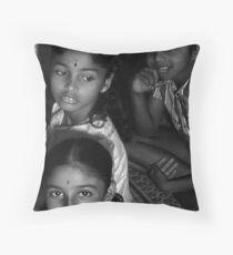 Hindu Children  Throw Pillow