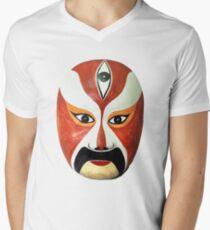 Bangzi opera, Wen Zhong Mens V-Neck T-Shirt