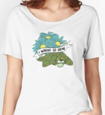 I WANNA GO HOME Women's Relaxed Fit T-Shirt