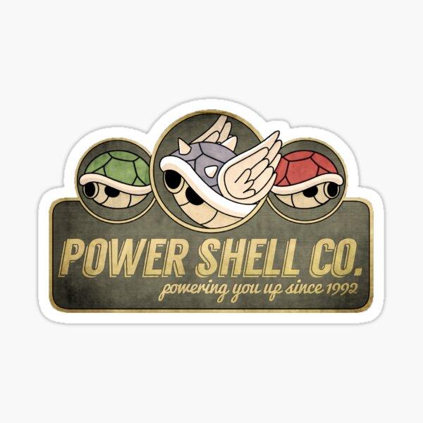 powershell company Sticker