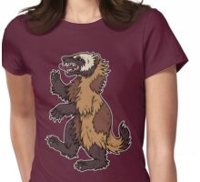 Gulo gulo - Wolverine Womens Fitted T-Shirt