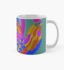 Colorful Abstract Rooster Classic Mug