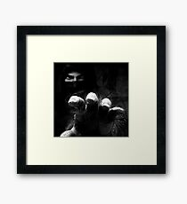 ★ Freaky Cool B&W Art Framed Print