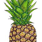 Pineapple by northshoresign