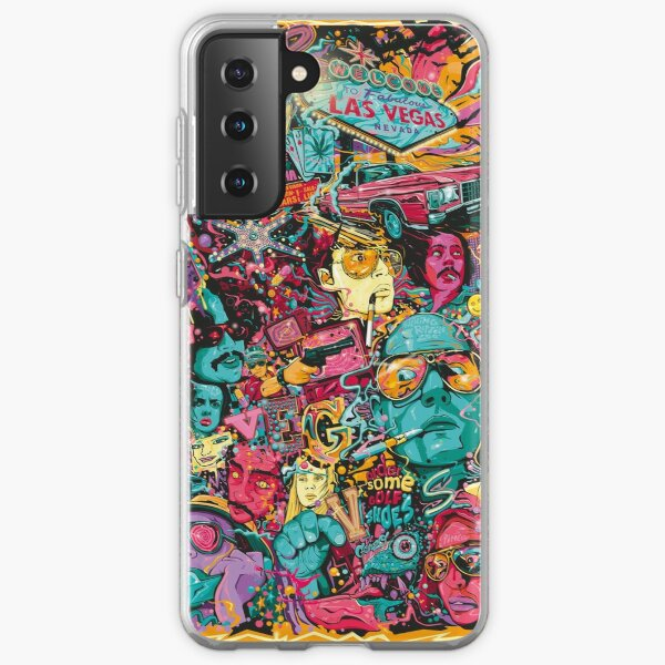 Fear and Loathing in Las Vegas Samsung Galaxy Soft Case
