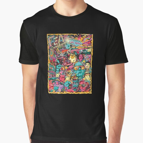 Fear and Loathing in Las Vegas Graphic T-Shirt