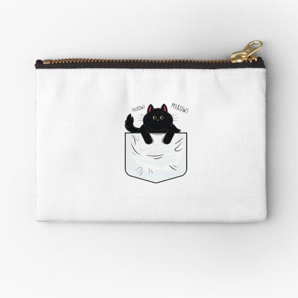 Pocket Cat Zipper Pouch