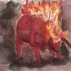 Taurus by Jen Hallbrown