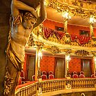 Germany. Munich. Rezidenz. The Cuvilliés Theatre. Detail. by vadim19