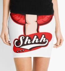 Shhh Silent Hand Mini Skirt