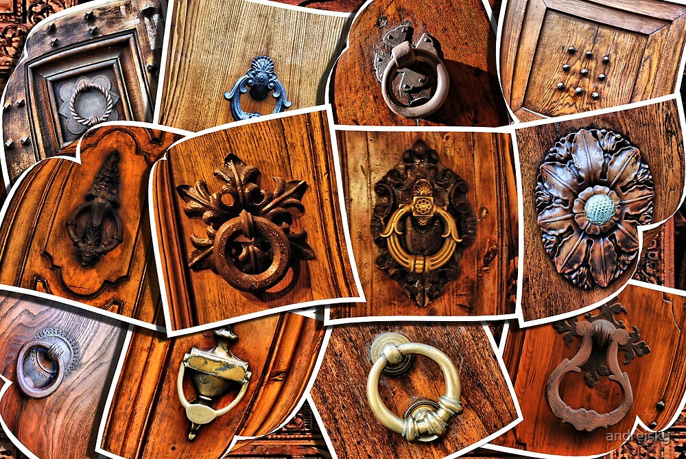 A few pictures of italian door knockers and knobs by andreisky
