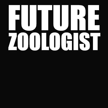 Future Zoologist Zoology College High School Graduate Graduation by losttribe