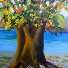 Fat Tree Along Kelly Drive by Marita McVeigh